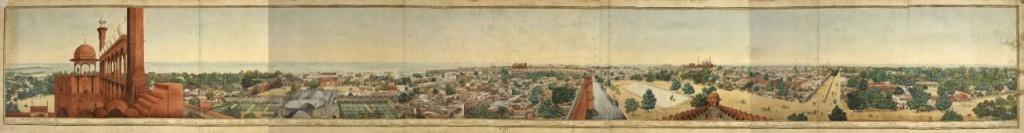 shahjahanabad panorama