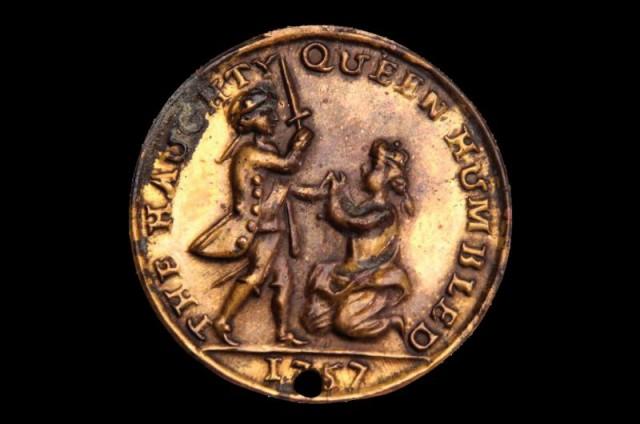 Brass medalet token