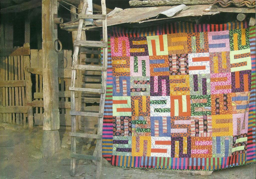 Carnival S Block Quilt