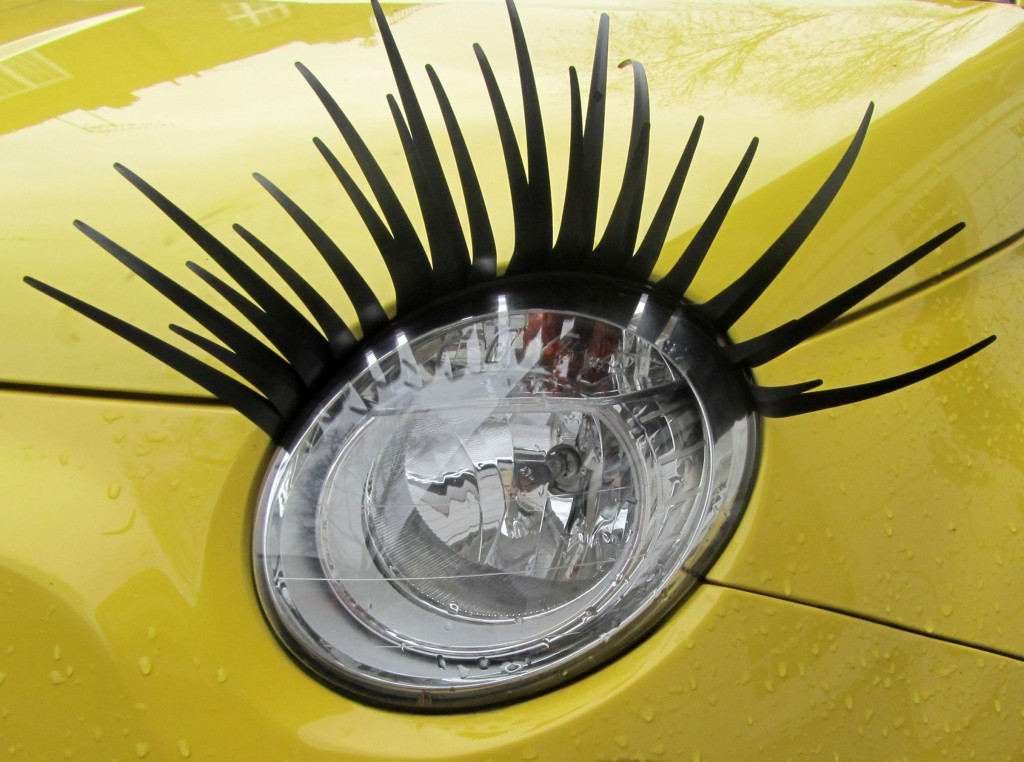 headlight lashes