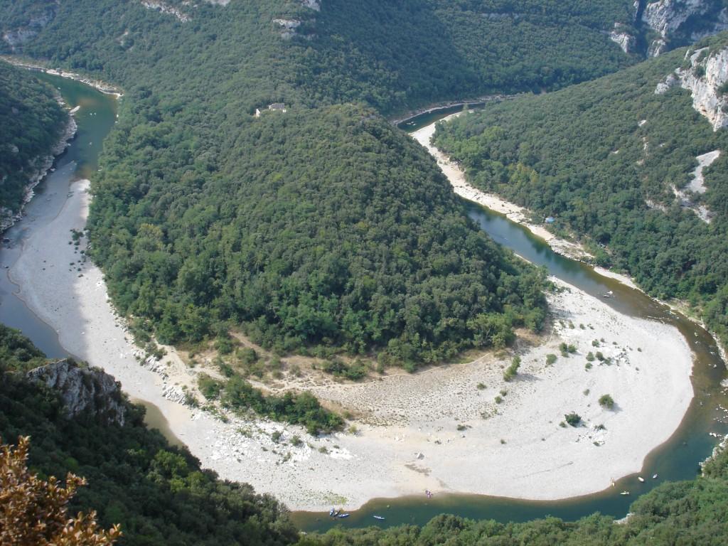 ardeche gorge, 2006