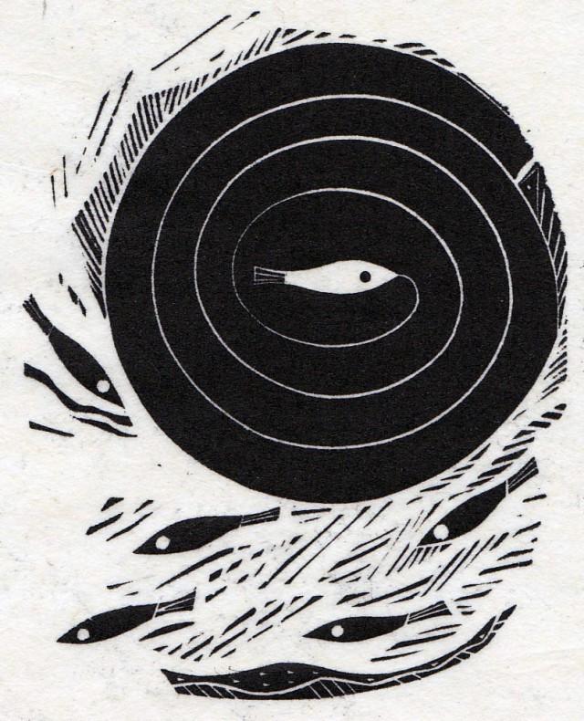 six fish spiral