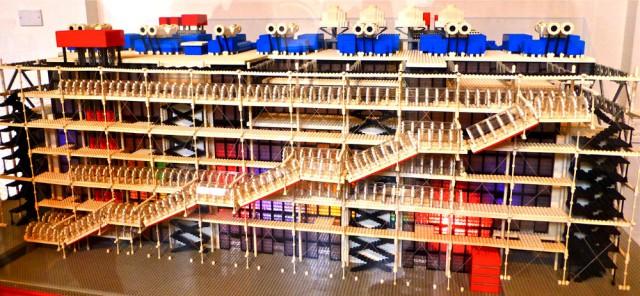 Lego Pompidou
