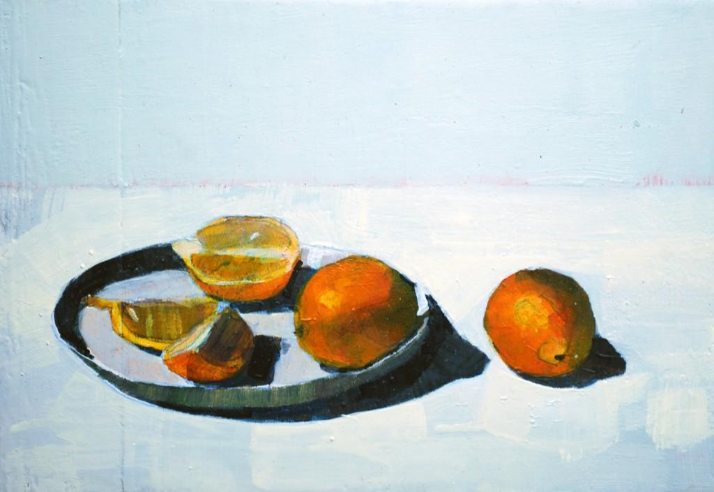 Lemons on Plate