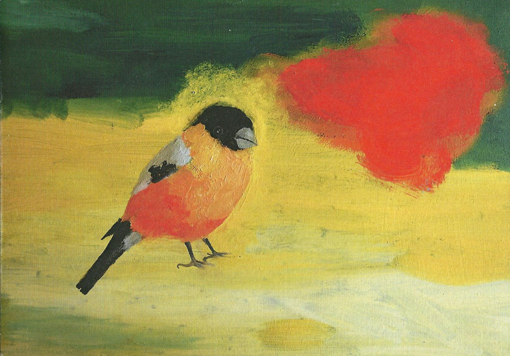 scan0010 David Rees Davies, Bullfinch, for Sussex Countryside Trust