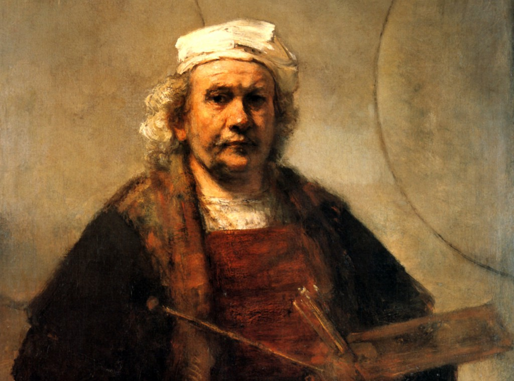 Rembrandt_Self_Portrait_with_Two_Circles_detail