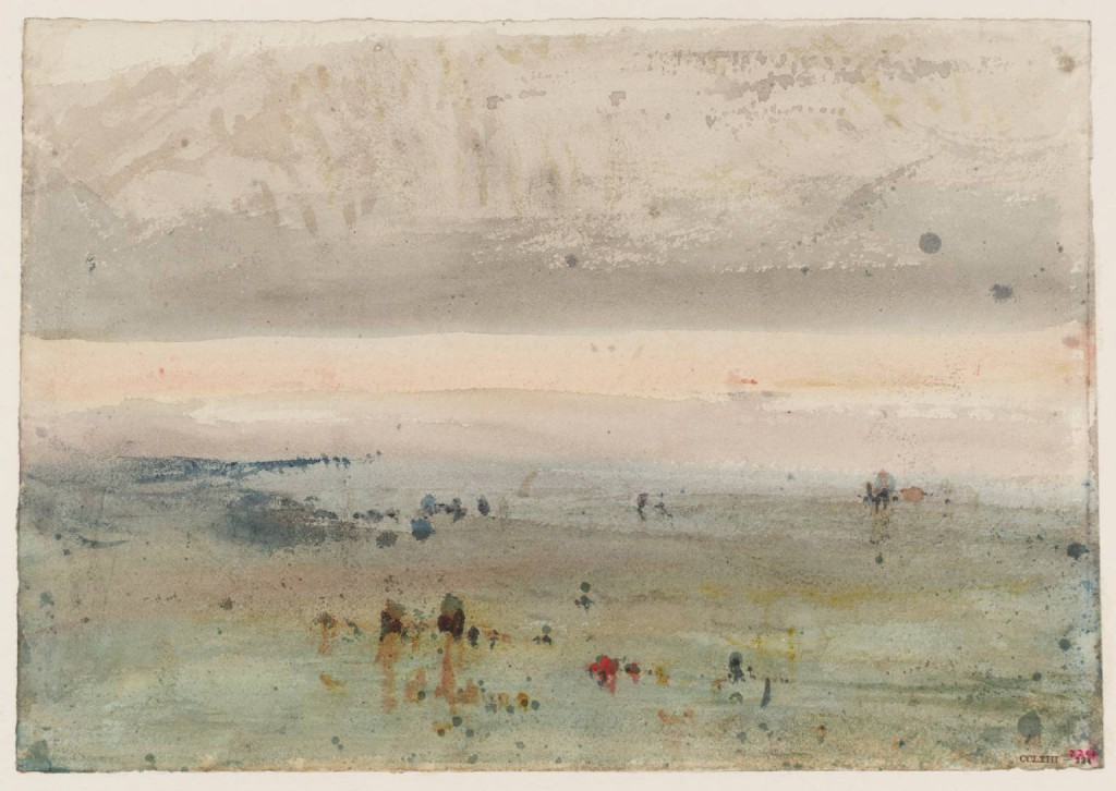 On the Sea Shore circa 1830-5 by Joseph Mallord William Turner 1775-1851