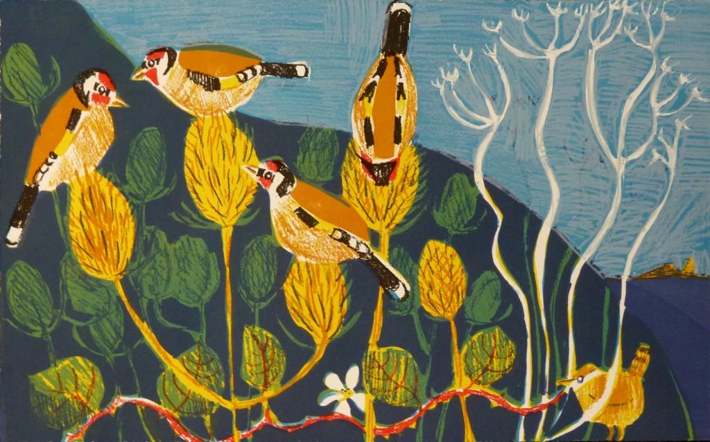 Jones, Kittie - Trembling Wren, 2012, screenprint