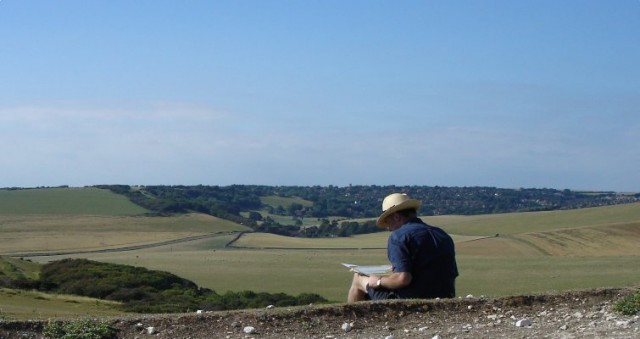 Drawing at Belle Tout