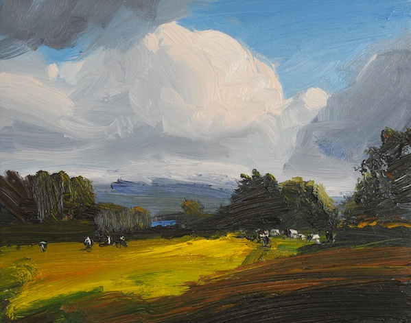 oil on canvas 30 x 24 cm