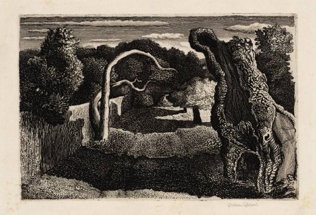 Pastoral 1930 by Graham Sutherland OM 1903-1980