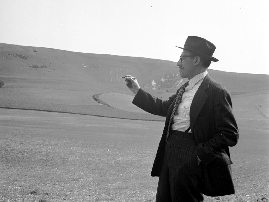 Portrait of Saul Steinberg by Lee Miller