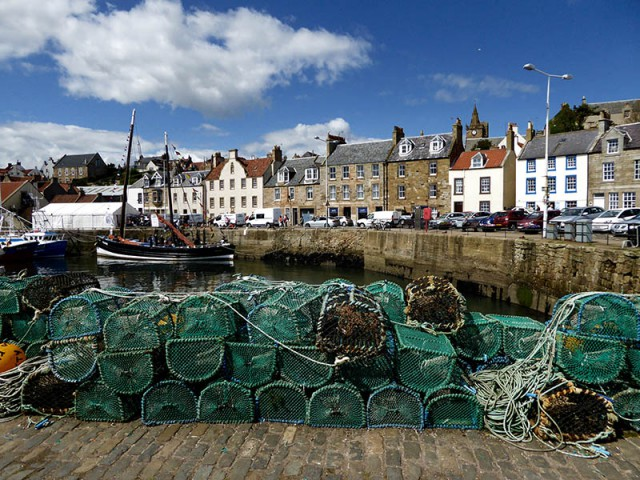 Lobster pots Pittenweem