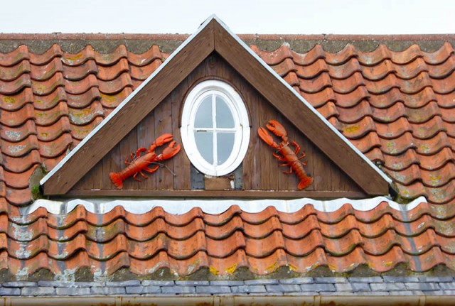Lobster roof in Crail