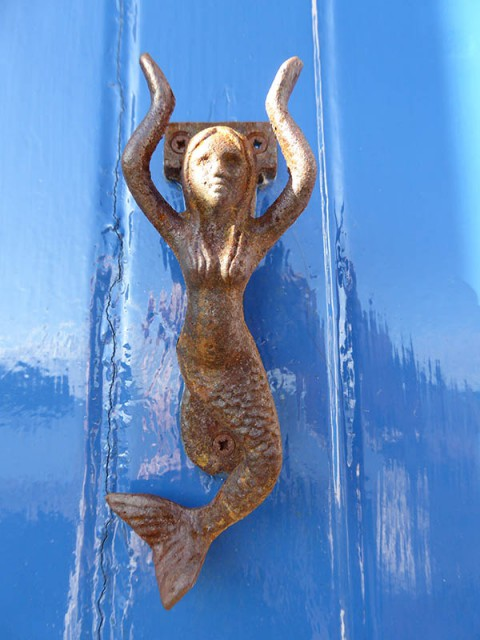Mermaid knocker Pittenweem