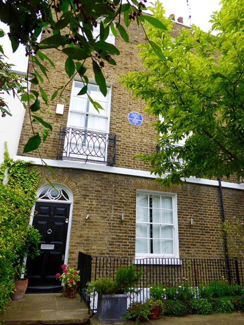 Miller & Penrose house in Hampstead