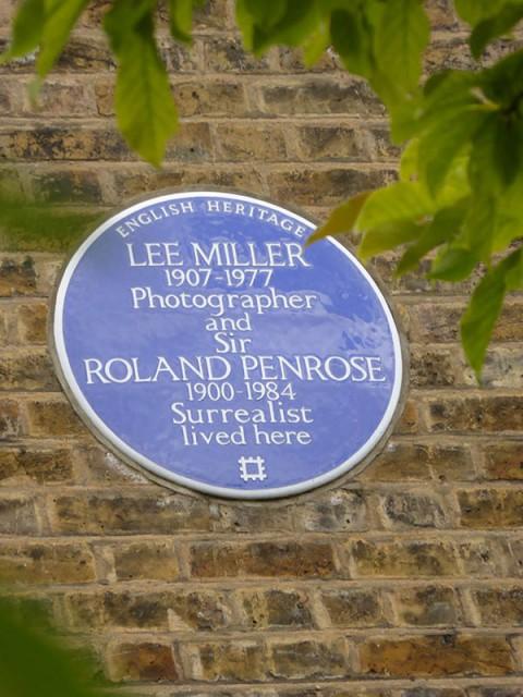Miller & Penrose plaque