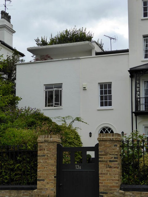 Moderne house in Hampstead