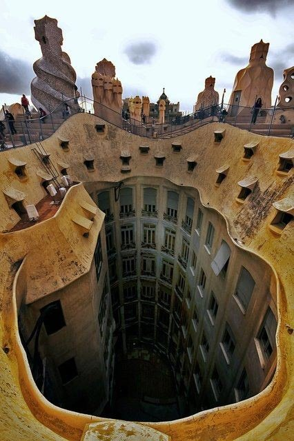 La Pedrera  Frames of Reference