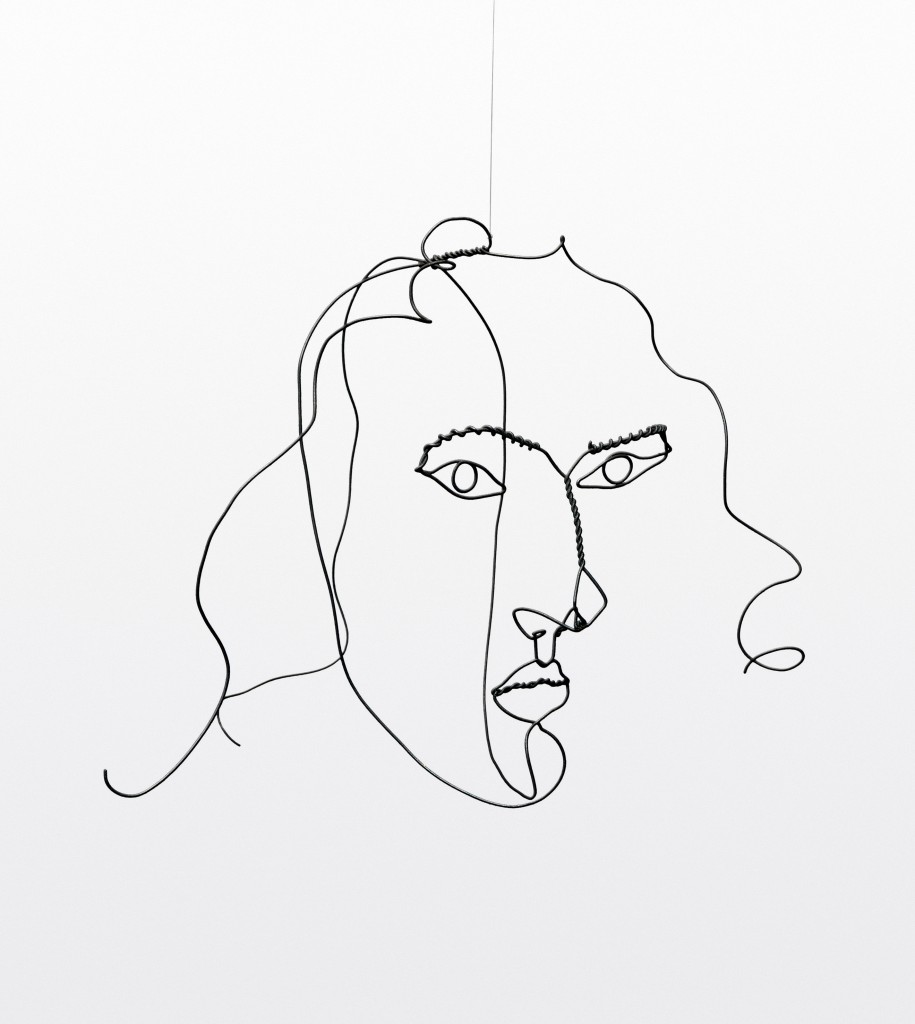 Matisse Contour Line Drawing : Performing sculpture frames of reference